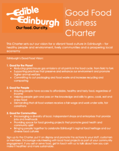 Good Food Business Charter