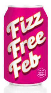 Fizz Free February logo