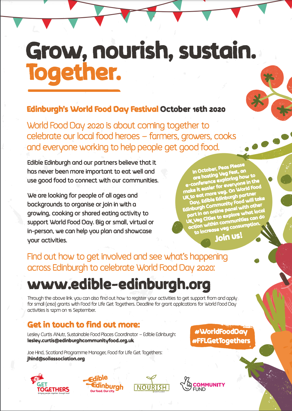 Edinburgh World Food Day Festival PDF