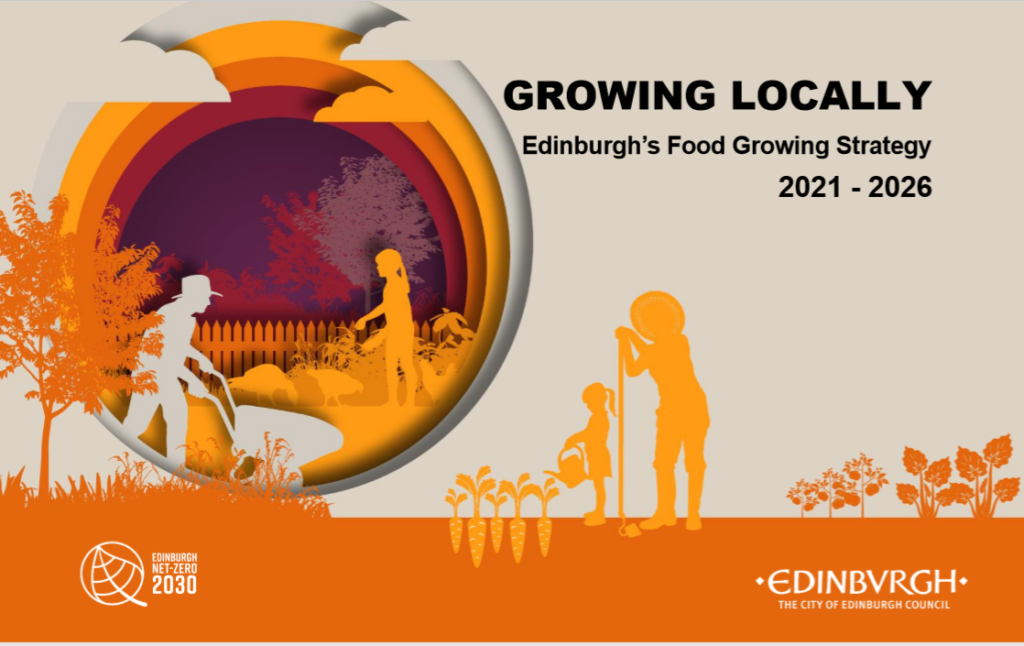 Growing Locally Front Cover